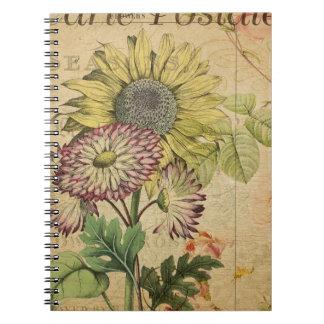 Carte Postale I Notebook