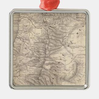 Carte, Province de Mendoza, the Araucan�a Christmas Ornament