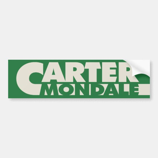 Carter 1976 Bumper Sticker