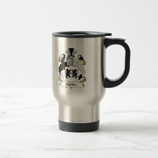 Carter Family Crest Travel Mug