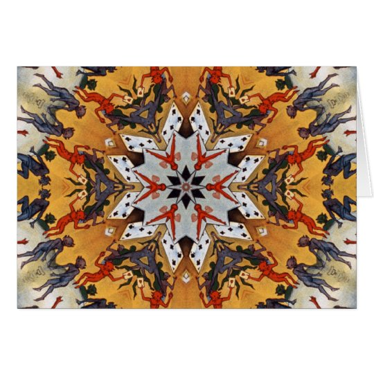 Carter the Great Kaleidoscope Card