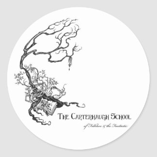 Carterhaugh School Logo Sticker (Circle)