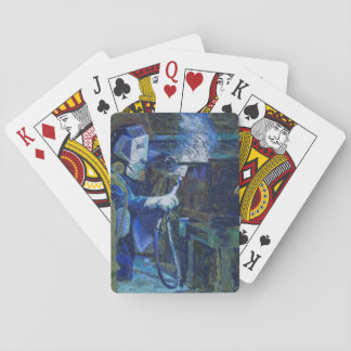 """Cartes à jouer """"Man at Work"""" Playing Cards"""