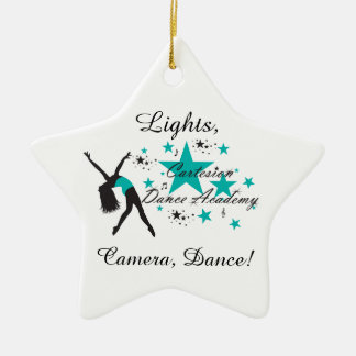 "Cartesion ""Lights, Camera, Dance!"" Ornament"
