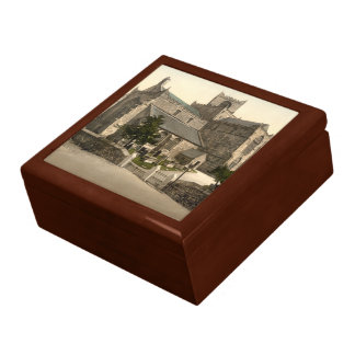 Cartmel Priory Church, Cumbria, England Large Square Gift Box