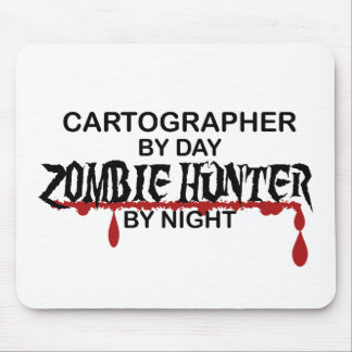 Cartographer Zombie Hunter Mouse Pad