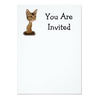 Cartoon Aby 13 Cm X 18 Cm Invitation Card