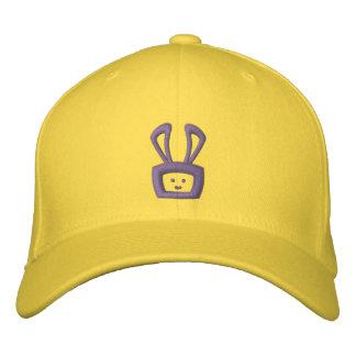 Cartoon Acid Oscar the Bunny Hat (Purple Logo) Embroidered Baseball Caps