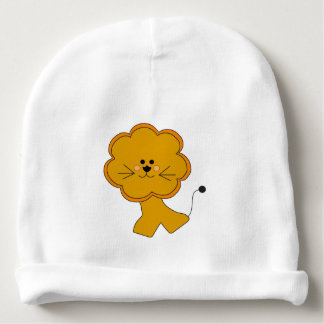 Cartoon Afriican Lion Baby Beanie