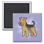 Cartoon Airedale Terrier / Welsh Terrier