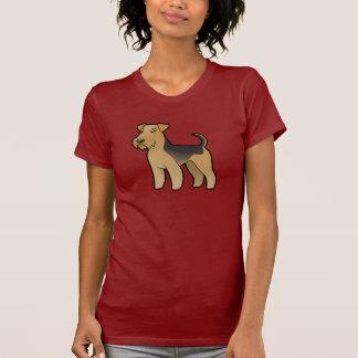 Cartoon Airedale Terrier / Welsh Terrier T-Shirt