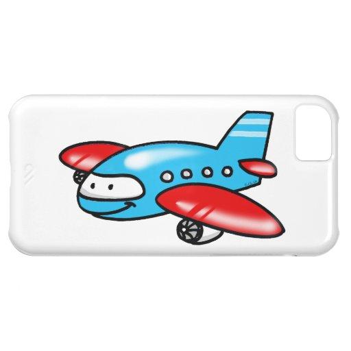 cartoon airplane iPhone 5C cases