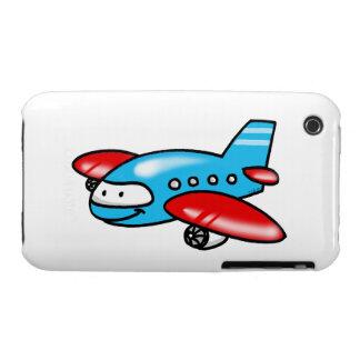 cartoon airplane Case-Mate iPhone 3 cases