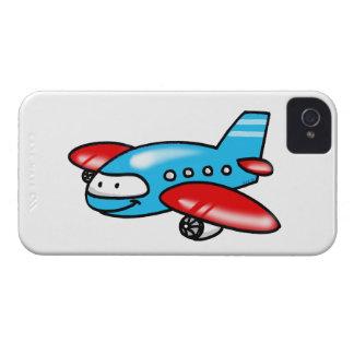 cartoon airplane Case-Mate iPhone 4 cases