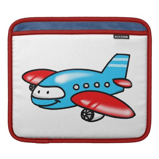 cartoon airplane sleeves for iPads
