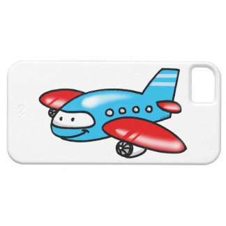 cartoon airplane iPhone 5 cover