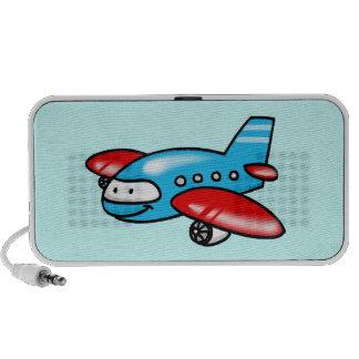 cartoon airplane notebook speaker