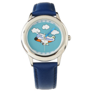 Cartoon Airplane Watch