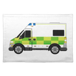 Cartoon Ambulance Placemat