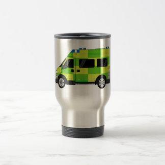 Cartoon Ambulance Stainless Steel Travel Mug