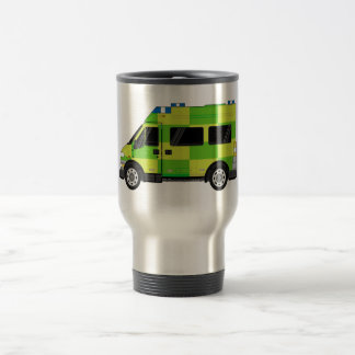 Cartoon Ambulance Travel Mug
