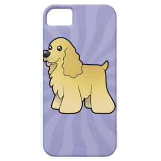 Cartoon American Cocker Spaniel Case For The iPhone 5