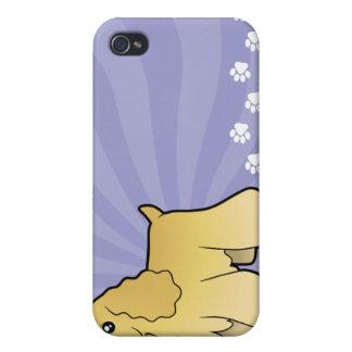Cartoon American Cocker Spaniel iPhone 4 Case