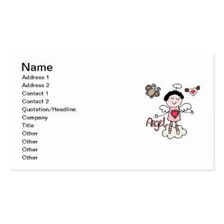 Cartoon Angel Pack Of Standard Business Cards