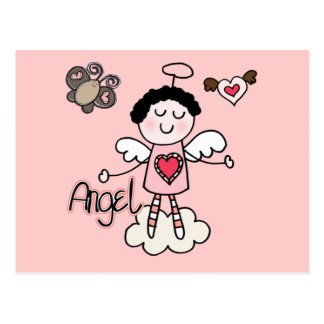 Cartoon Angel Postcard
