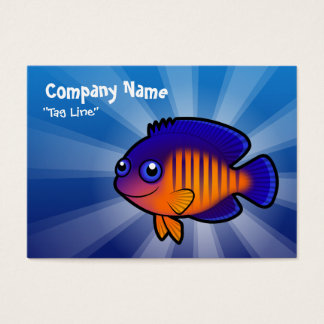 Cartoon Angelfish 1 Business Card