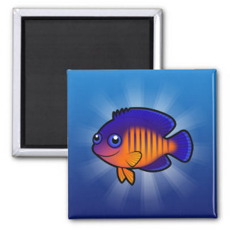 Cartoon Angelfish 1 Magnet