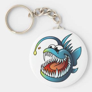 Cartoon Angler Fish Key Chains