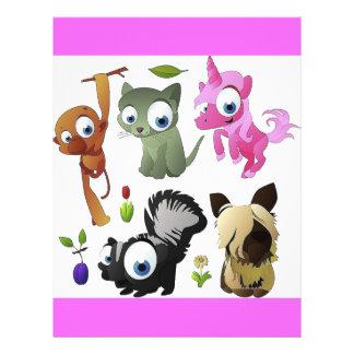 Cartoon_animal_4-1024x1008 21.5 Cm X 28 Cm Flyer