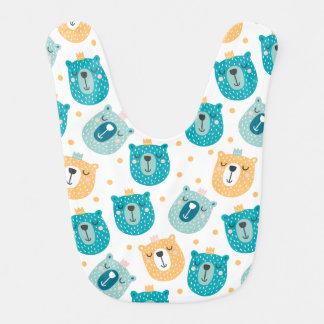 Cartoon Animal Baby Bib