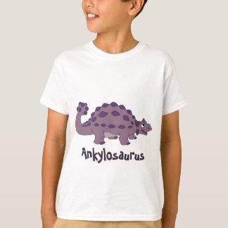 Cartoon Ankylosaurus T-Shirt