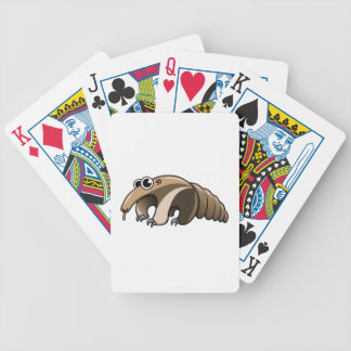 Cartoon Anteater Poker Cards
