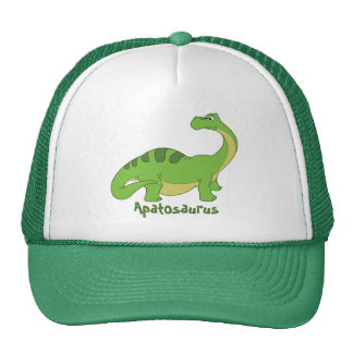 Cartoon Apatosaurus Cap
