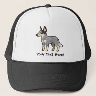 Cartoon Australian Cattle Dog / Kelpie Trucker Hat