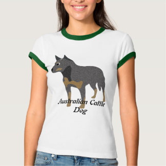 Cartoon Australian Cattle Dog T-Shirt