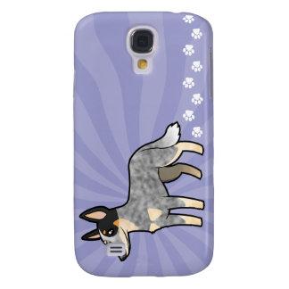 Cartoon Australian Cle Dog / Kelpie Galaxy S4 Case