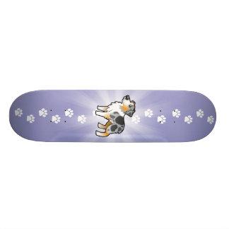 Cartoon Australian Shepherd 20.6 Cm Skateboard Deck