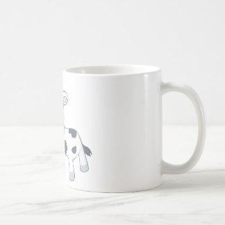 Cartoon Baby Cow Coffee Mugs