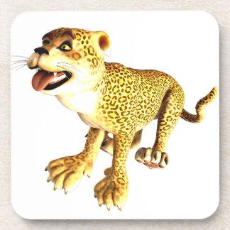 Cartoon Baby Leopard Coaster