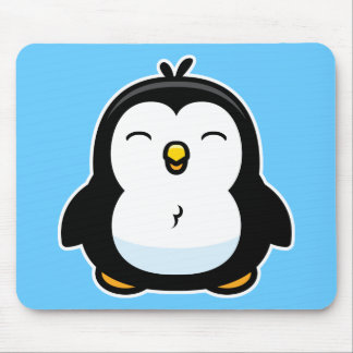 Cartoon Baby Penguin Mouse Pad