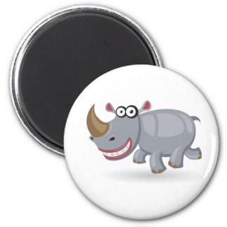 Cartoon baby Rhino Magnet