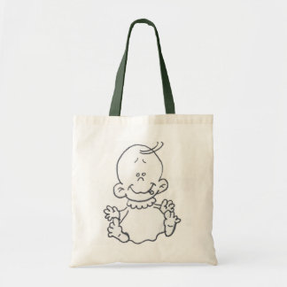 Cartoon Baby Tote Bag