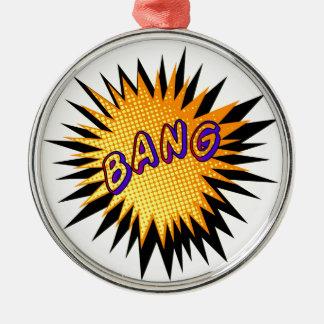 Cartoon Bang Christmas Ornament