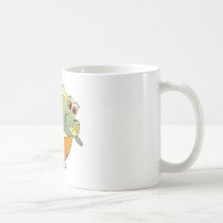 Cartoon Bass Coffee Mug