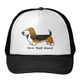 Cartoon Basset Hound Cap