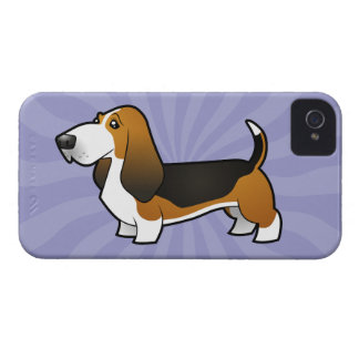 Cartoon Basset Hound Case-Mate iPhone 4 Case